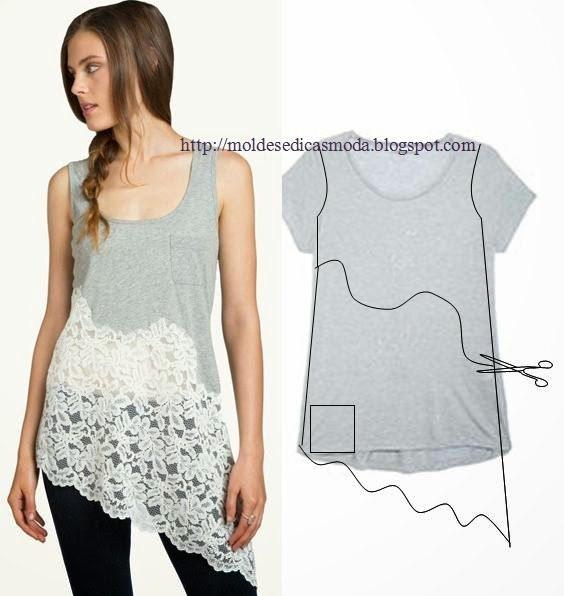 20+ Creativas Ideas para Convertir tu Camiseta Vieja