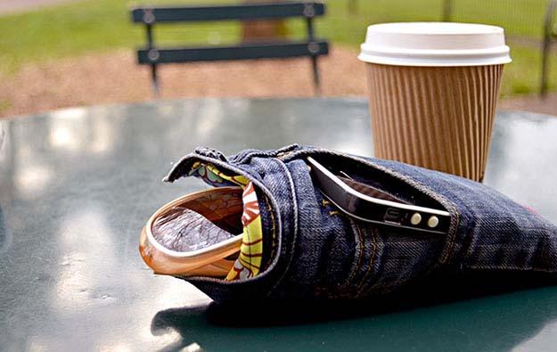 15+ Proyectos para Reciclaje de Jeans Viejos