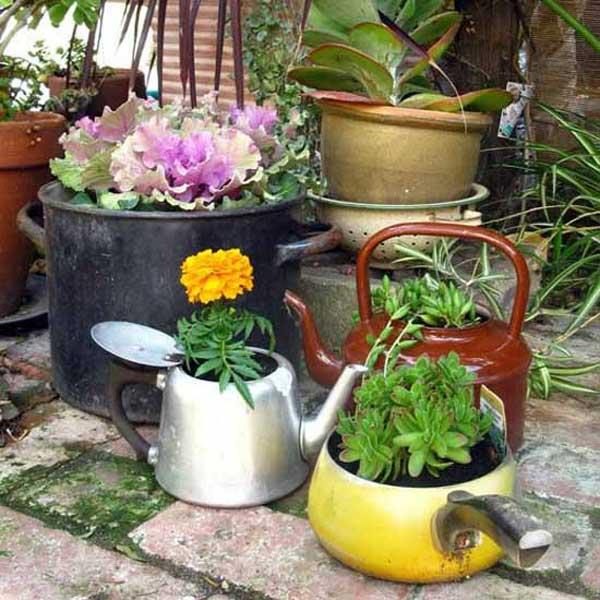 20+ Ideas para Reciclar tus Utensilios de Cocina
