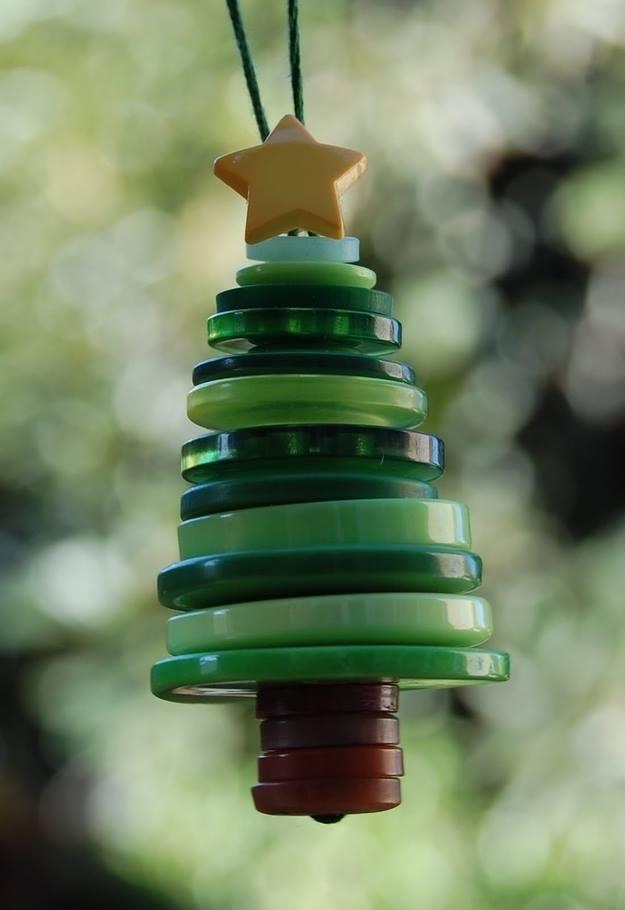 15 Ideas Originales para Decorar en Navidad con Botones