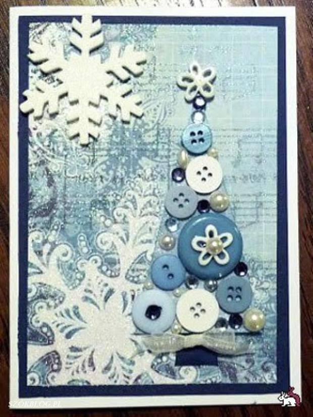 15 ideas originales para decorar en navidad con botones - Ideas originales para navidad ...