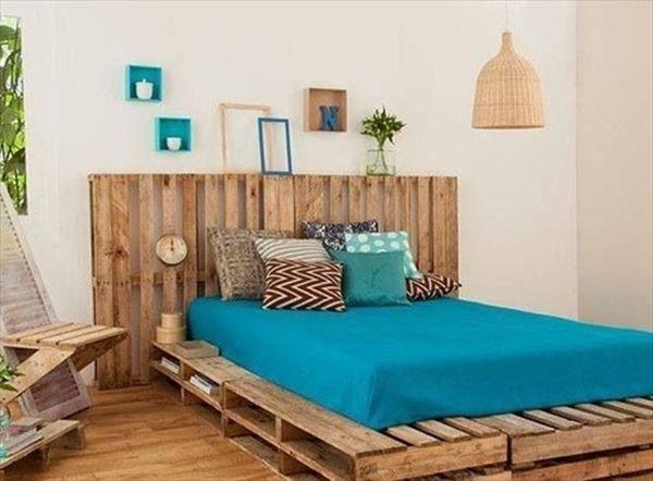 25 camas hechas con palets que te encantar a tener for Camas con palets