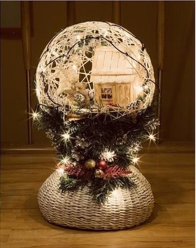 Brillantes Proyectos del Globo de Navidad