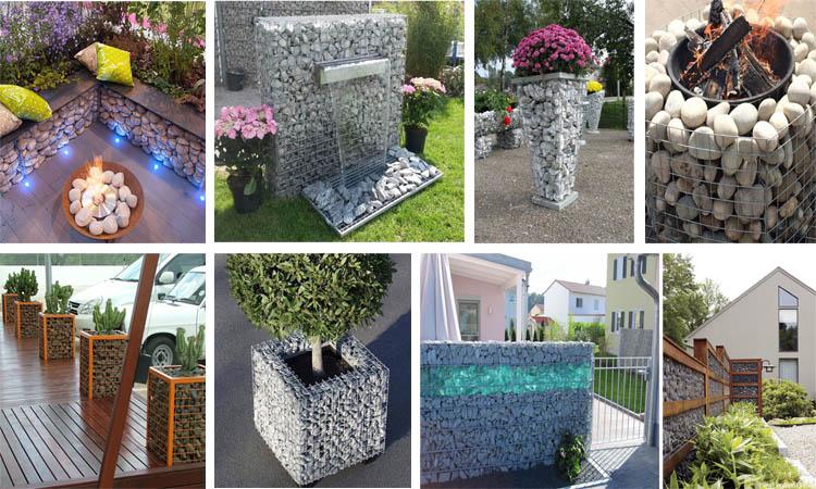 15 gaviones decorativos fabulosos para el jard n for Articulos decorativos para jardin