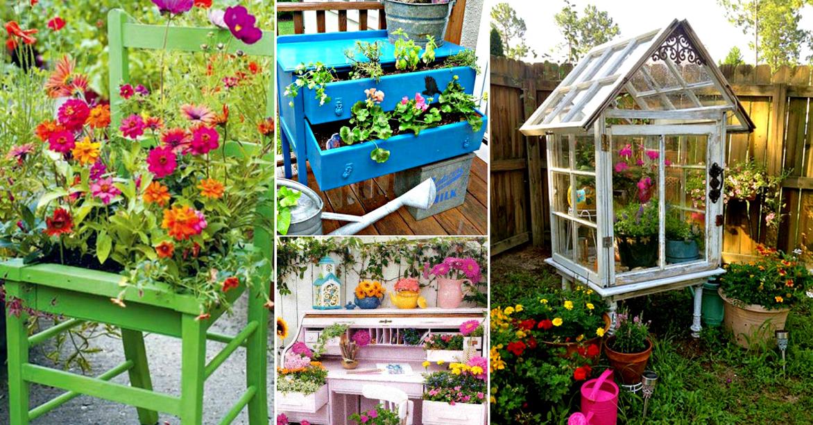 13 ideas geniales para reciclar muebles para hogar y jard n - Hogar y jardin castellon ...