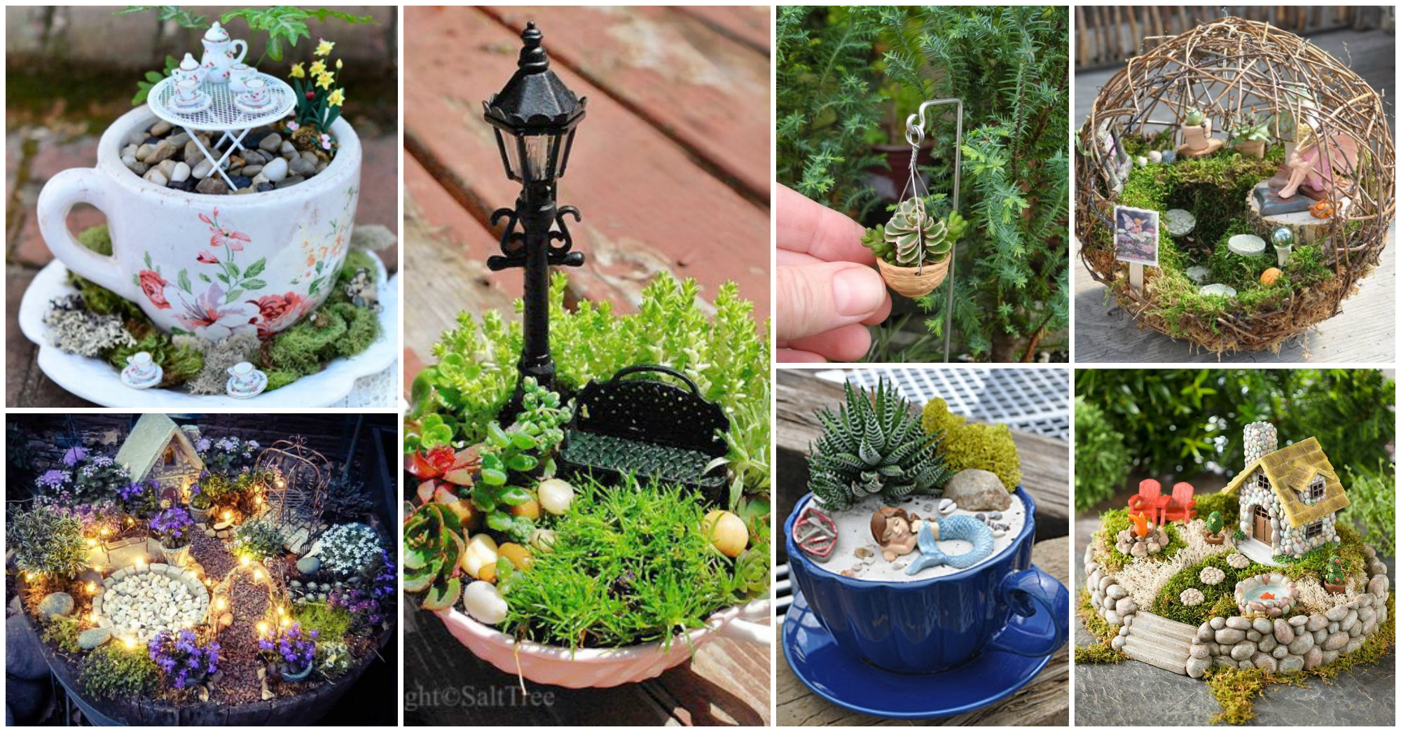 15 locos proyectos para crear jardines de interior en for Jardines japoneses en miniatura