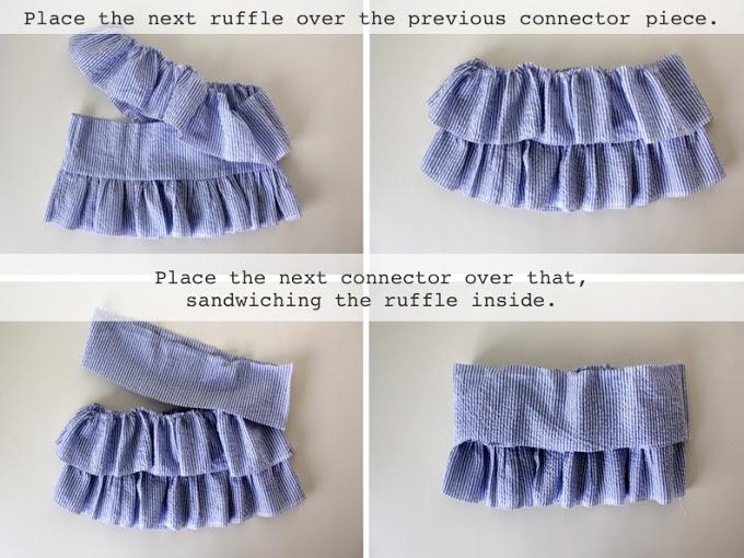 Como Hacer Falda de Niña con Volante