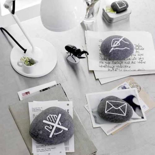 Sorprendentes Ideas para Decorar con Piedras