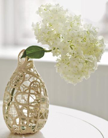 13+ Sorprendentes Ideas para Decorar su Floreros de Cristal