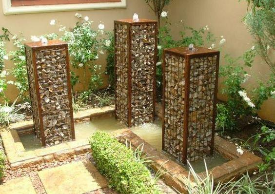 15+ Gaviones Decorativos Fabulosos para el Jardín
