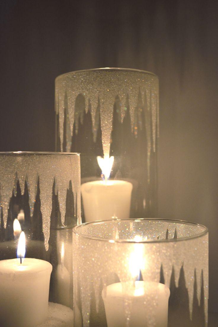 15+ Ideas Originales para Decorar Portavelas para Navidad