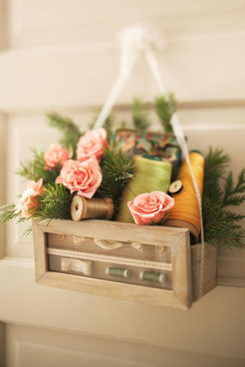 15+ DIY Guirnalda de Flores para la Primavera