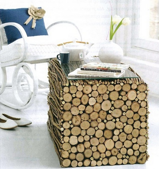 15 Ideas Decorativas de Madera