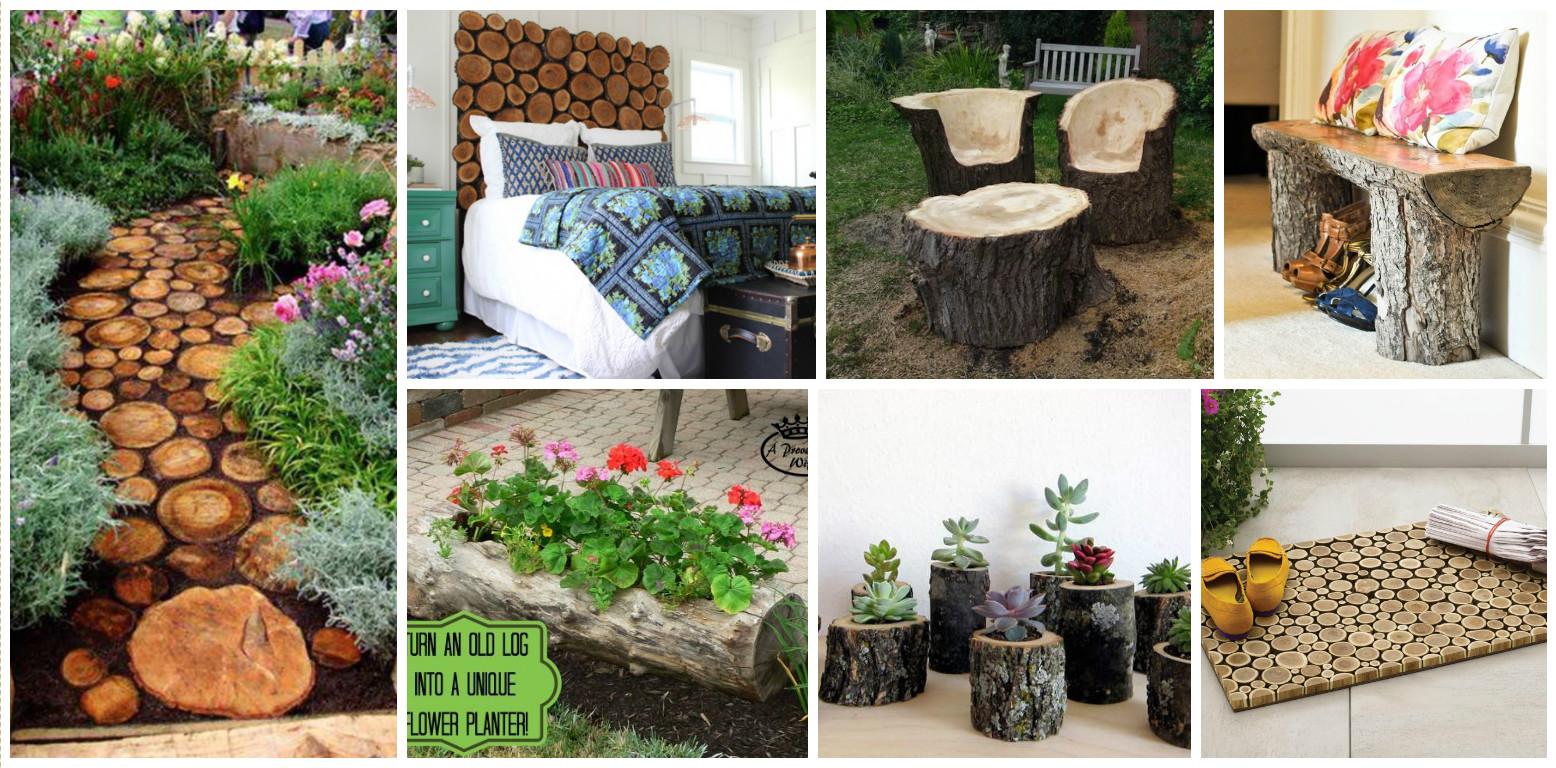 15 ideas decorativas de madera for Ideas decorativas hogar