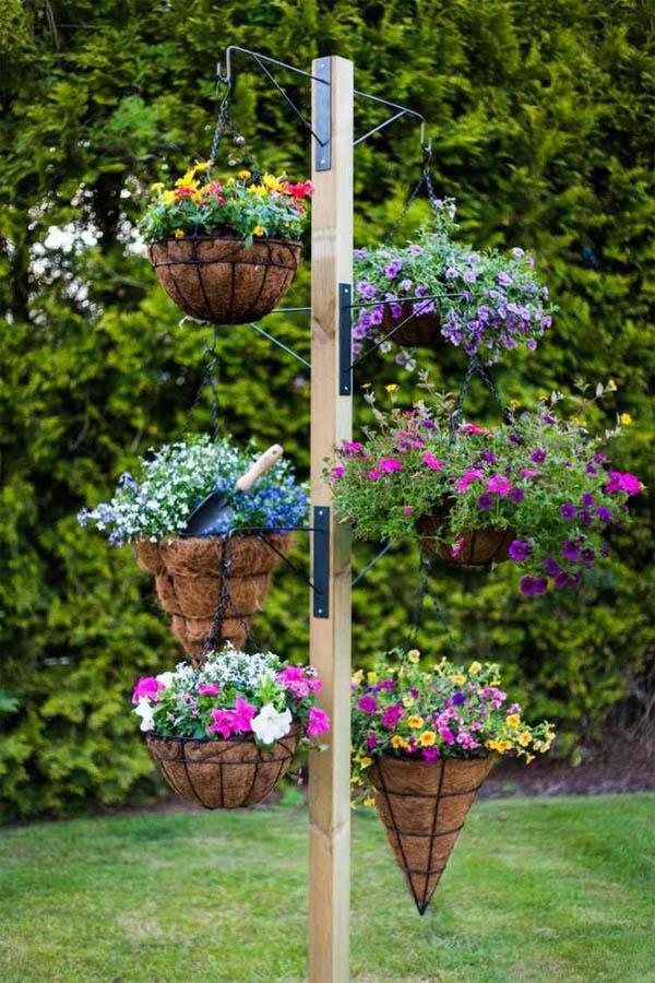 15+ Impresionantes Jardines Colgantes