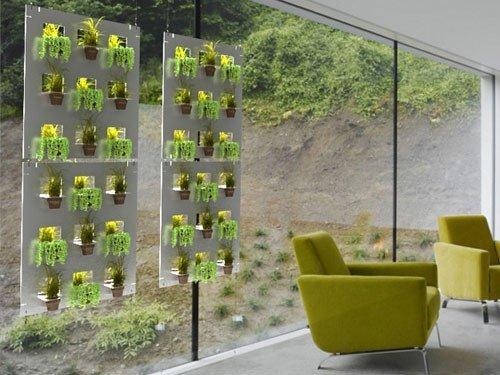 La belleza de los jardines verticales Jardines verticales baratos