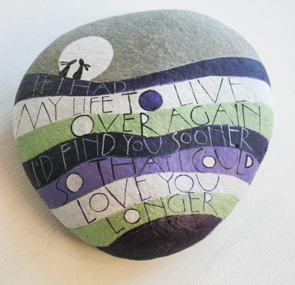 12+ Ideas Geniales en Piedras Pintadas