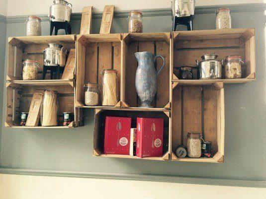 20+ Ideas Asombrosas para Reciclar Cajas Viejas