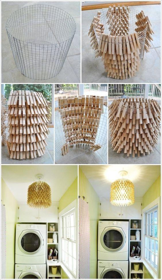 Formas Originales de Reciclar Pinzas de Ropa