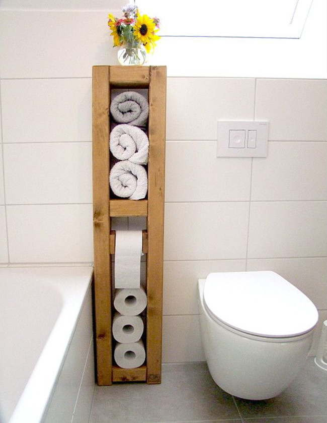 20 sostenedores de papel higi nico ingeniosas para el