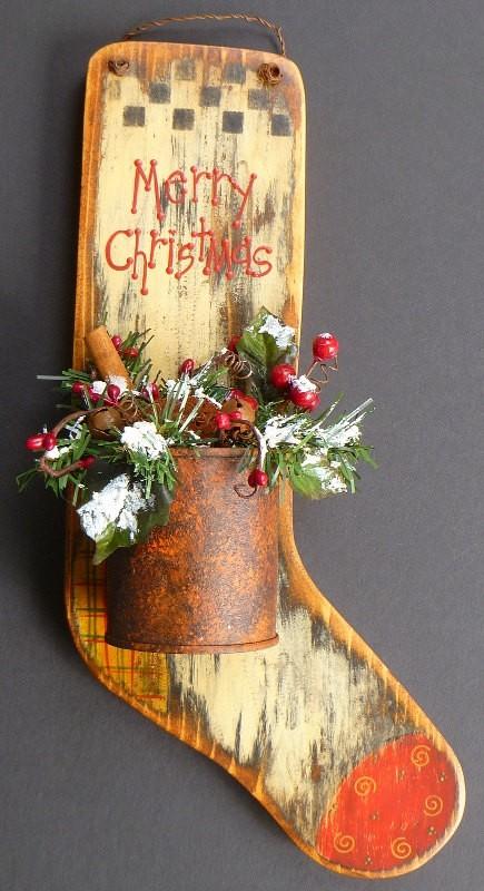 30+ Sorprendentes Adornos navideños rústicos