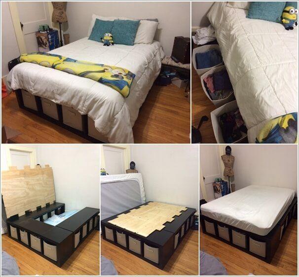 20 soluciones de almacenaje para aprovechar tu dormitorio - Almacenaje dormitorio ...