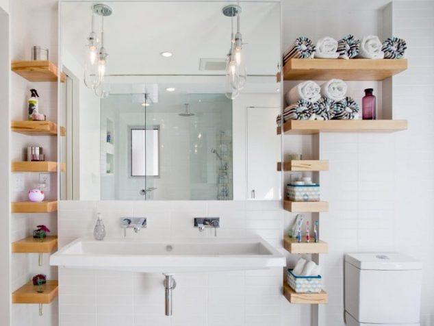 15+ Sorprendentes Ideas DIY de Almacenamiento Toallas de Baño