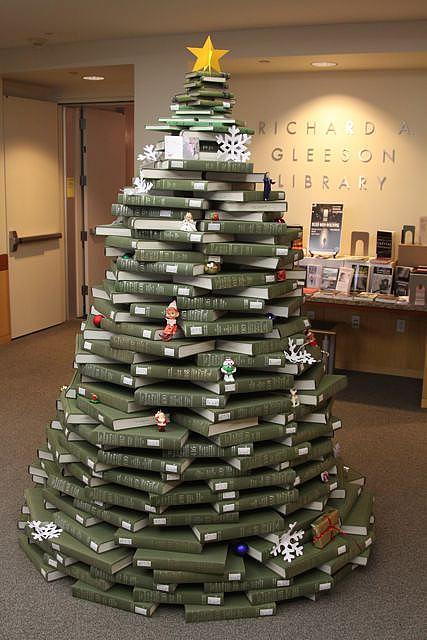 25+ Ideas Ingeniosas para Árboles de Navidad Alternativos
