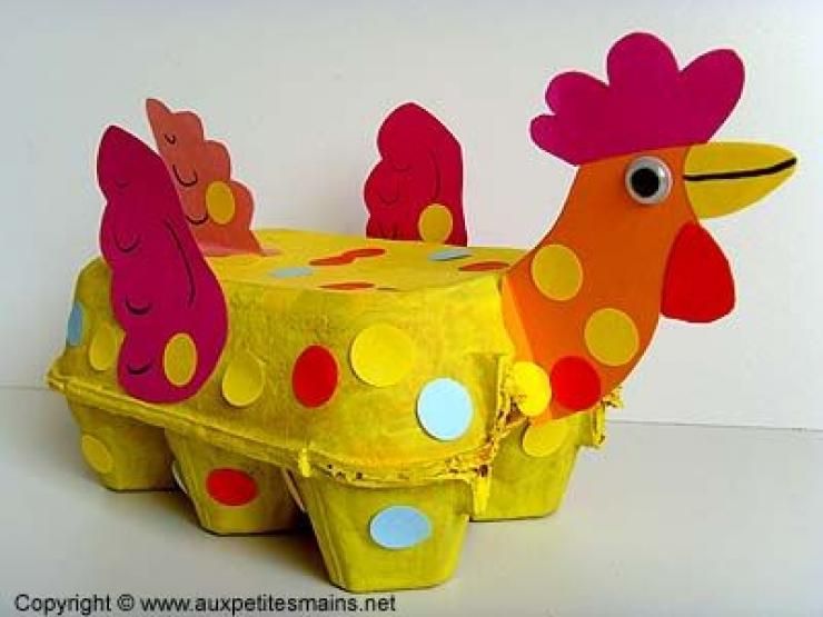 17+ Ingeniosas Ideas con Cartón de Huevos