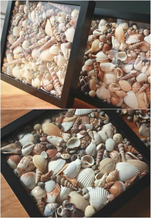 17+ Artesanias Geniales para Hacer con las Conchas de Mar