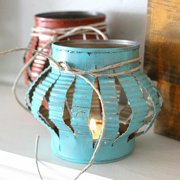 15 artesanias estupendas con latas de aluminio for How to come up with painting ideas