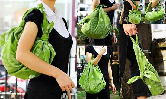 C mo hacer un bolso furoshiki - Como guardar los bolsos ...