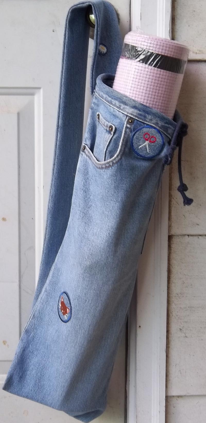 15+ Bolsos Reciclados Originales con Pantalones Vaqueros