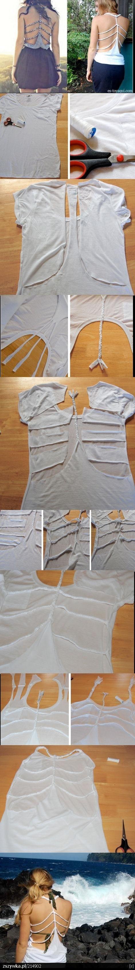 31 DIY Camiseta Para Verano