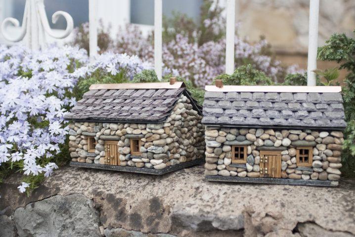 15 fascinantes casas de piedra en miniatura para embellecer el jard n - Casas en miniatura de madera ...