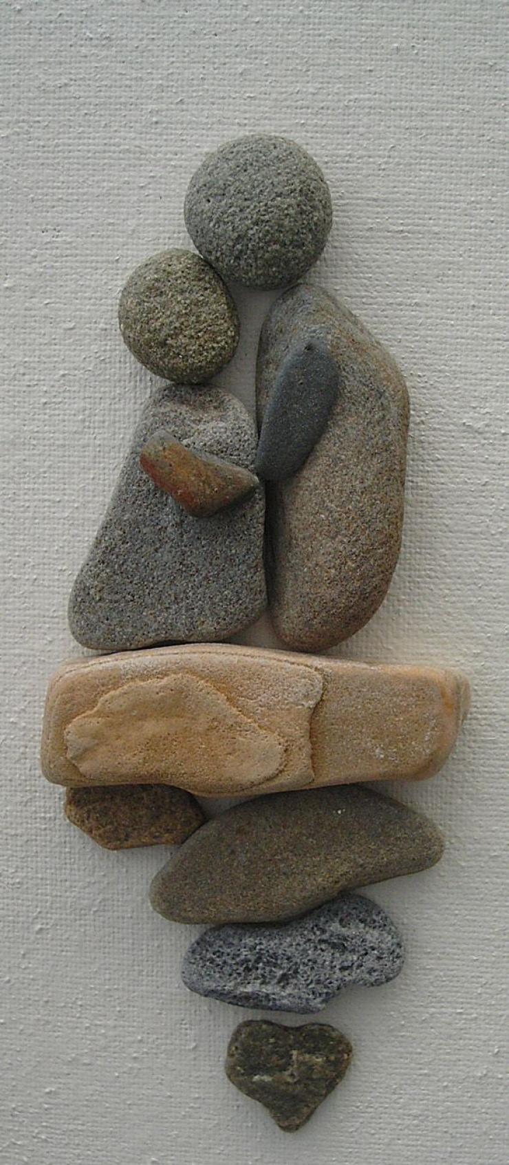 20 Artesanias Geniales Con Piedras