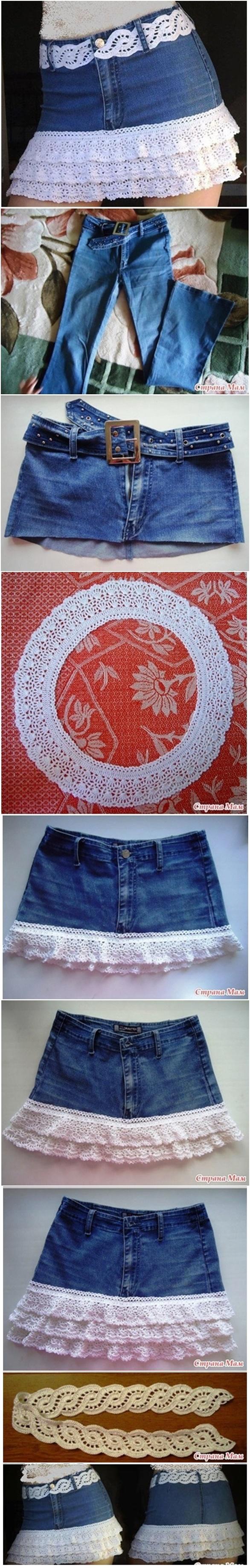 DIY Recicla Tus Pantalones