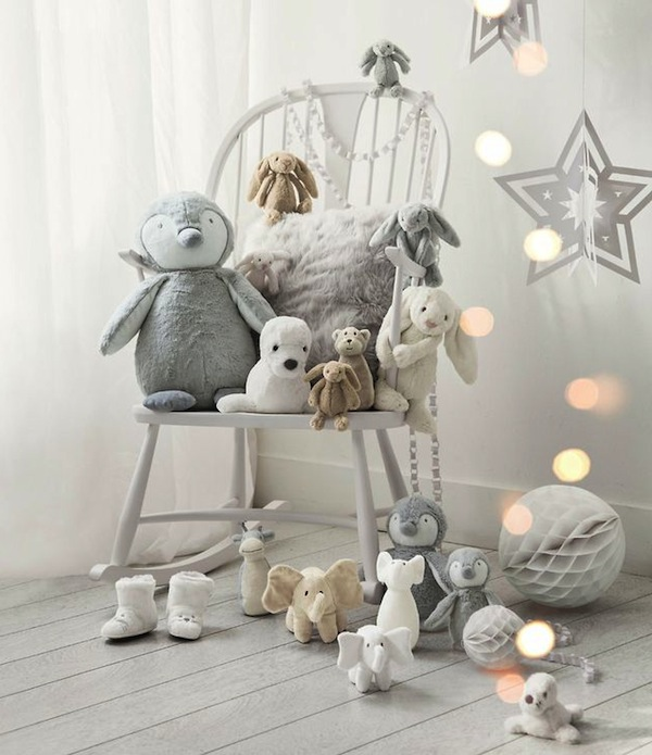 15+ Ideas Fascinantes para Decorar Cuarto de los Niños en Navidad