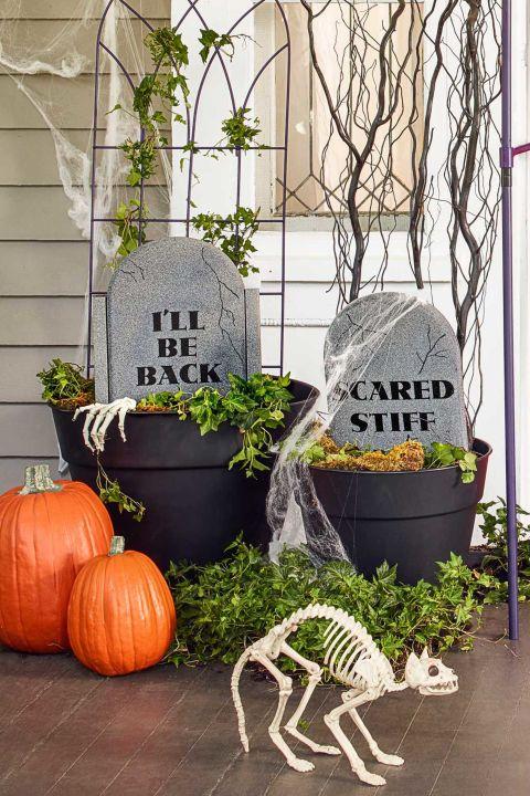 15+ Ideas Geniales de Decoración de Halloween para Tu Hogar
