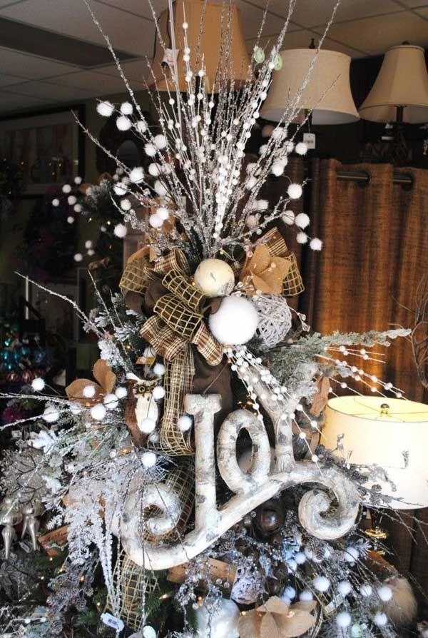 20+ Estupendas Ideas para Decorar Arbol de Navidad