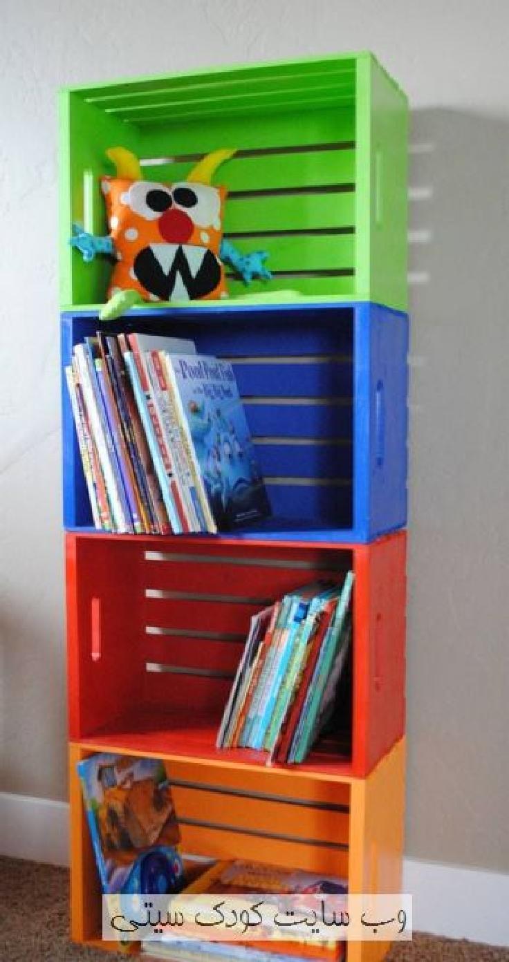 15+ Nuevas Ideas para Pintar y Reutilizar Cajas de Madera