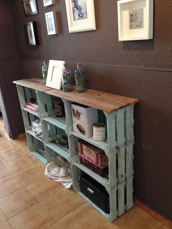 15+ Ideas Originales y Prácticas para Decorar tu Casa con Cajas de Madera