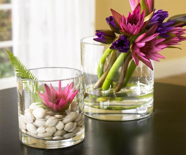 13 maneras asombrosas de decorar sus jarrones de cristal - Como decorar jarrones ...