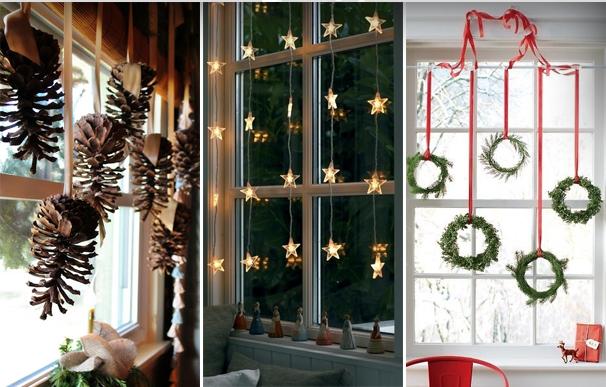 Decoracion Ventanas Navidad ~ Decoracion Navide?a Ventanas con Adornos Preciosos