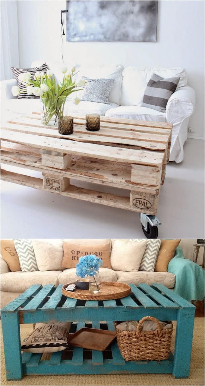15+ Diseños de Muebles con Palets que no Imaginarías