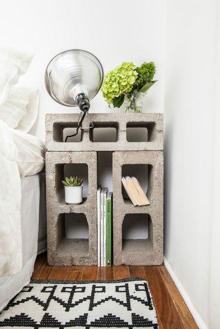 20+ Proyectos DIY Con Bloques de Hormigón