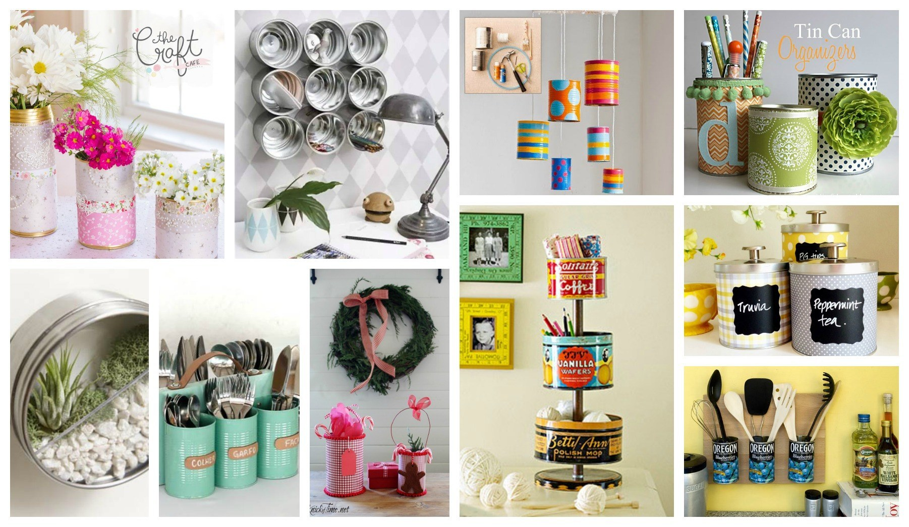 Ideas inspiradoras para reciclar latas de conservas - Reciclar latas de conserva ...