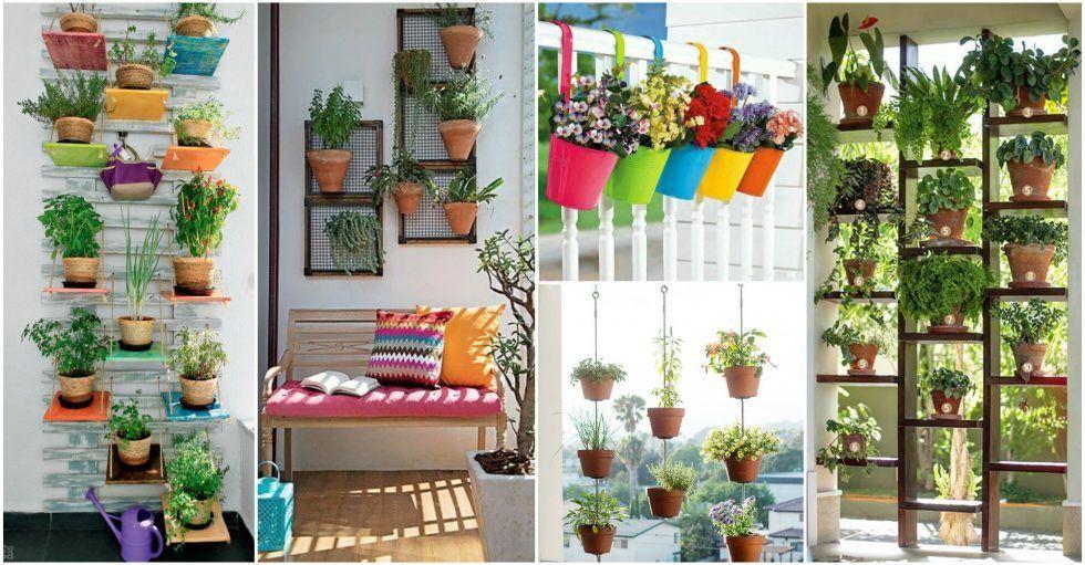 Alucinantes decoraciones de flores para balcones peque os - Decoracion de balcones con plantas ...
