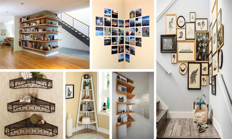 15 fascinantes ideas para decorar pared de esquina for Decorar esquinas salon