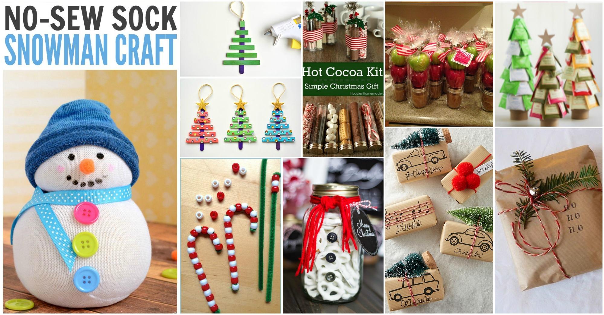 15 manualidades para hacer regalos originales navide os - Ideas para regalos navidenos ...